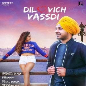 Dil Vich Vasdi lyrics