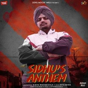 Sidhu Anthem lyrics