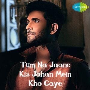 Tum Na Jaane Kis Jahan Mein Kho Gaye lyrics