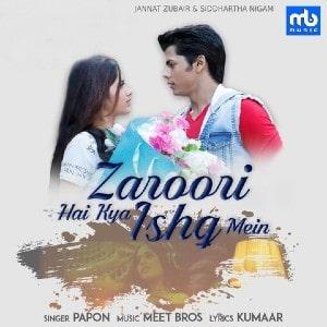 Zaroori Hai Kya Ishq Mein lyrics